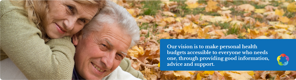 Our vision is to make personal health budgets accessible to everyone